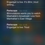 notification Periscope